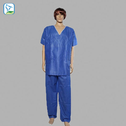 Disposable medical scrub suits / patient gowns - HUBEI BEST GROUP